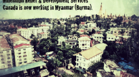 MRDS now working in Myanmar