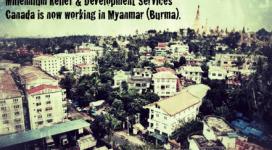 MRDS now working in Myanmar