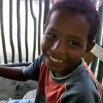 Der kleine Daniel aus La Barra, Kolumbien