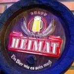 """""""Heimat"""" ein Bier gebraut in Blumenau, Brasilien"""