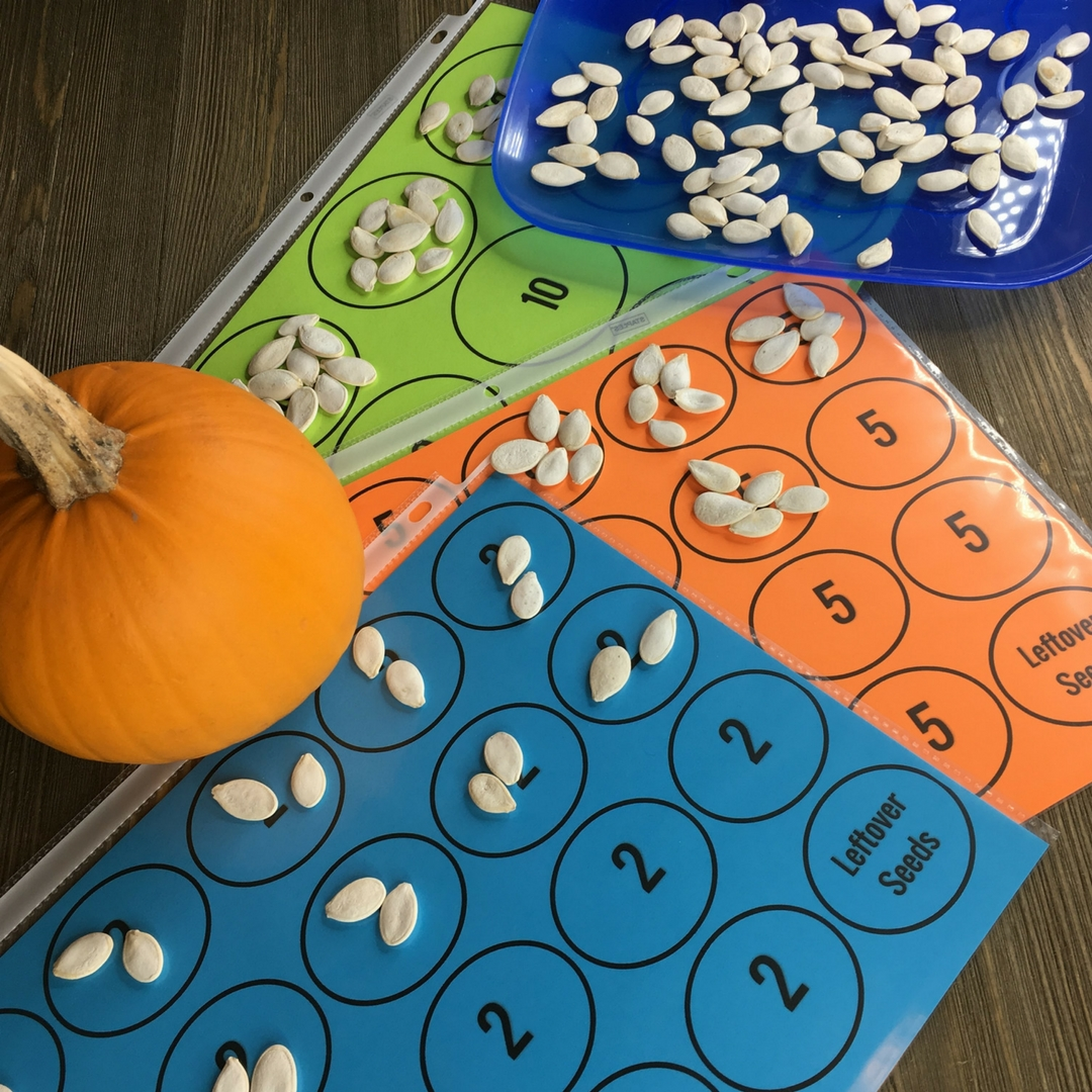 Pumpkin Math Investigations