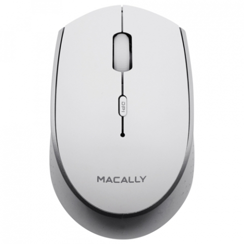 Macally - Rato EzMouse BT (white/silver)