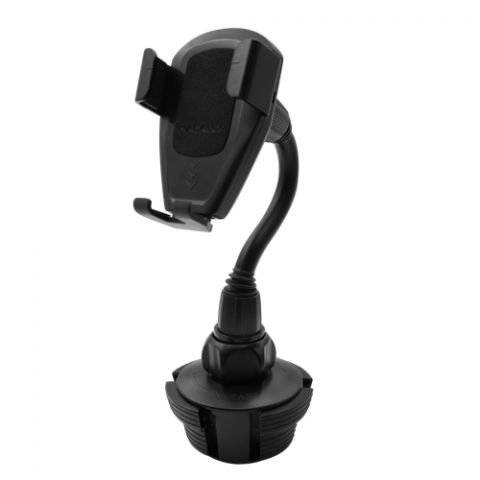 Macally - Car Cup Holder Mount with gravity phone holder