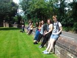 MRes BEC students trip to Down House