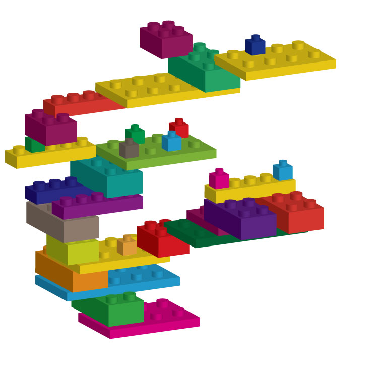 Lego Perspectives   Mr  Fatta Lego Structure Mina
