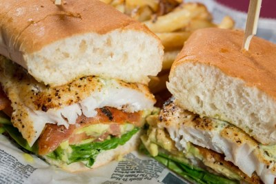 California Grouper Sandwich