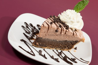 Chocolate Cream Grit Pie