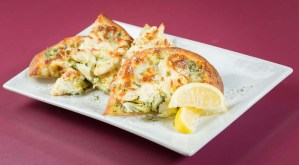 Crab & Pesto Flatbread