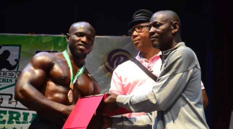 This is Abu Umah, The Mr Flex Nigeria 2019 Heavy Weight Bronze Medalist.