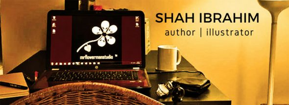 Shah Ibrahim MrFlowerman Studio Work Station