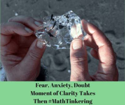 Fear, Anxiety, DoubtMoment of Clarity