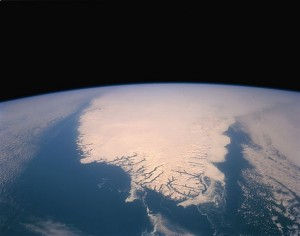 Southern Tip of Greenland, March 1, 1992