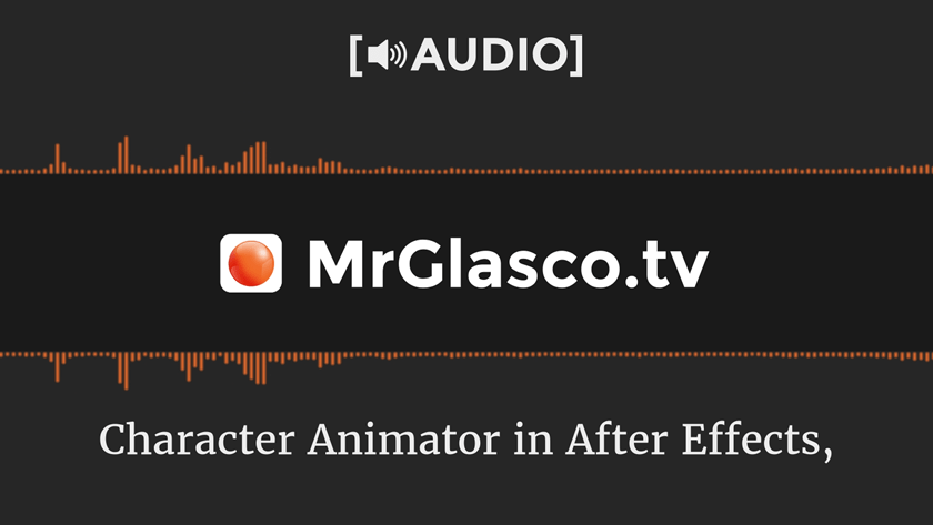 [🔊AUDIO] Using Adobe Character Animator LIVE