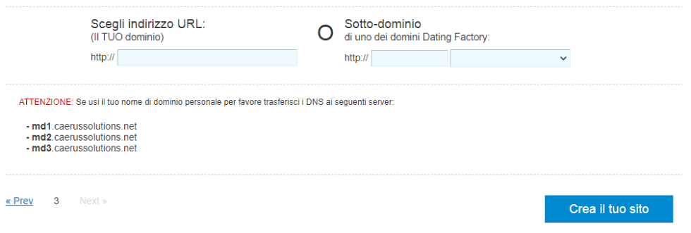 dating factory domini white label