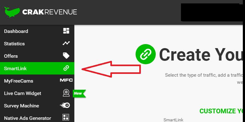 crak revenue smart link
