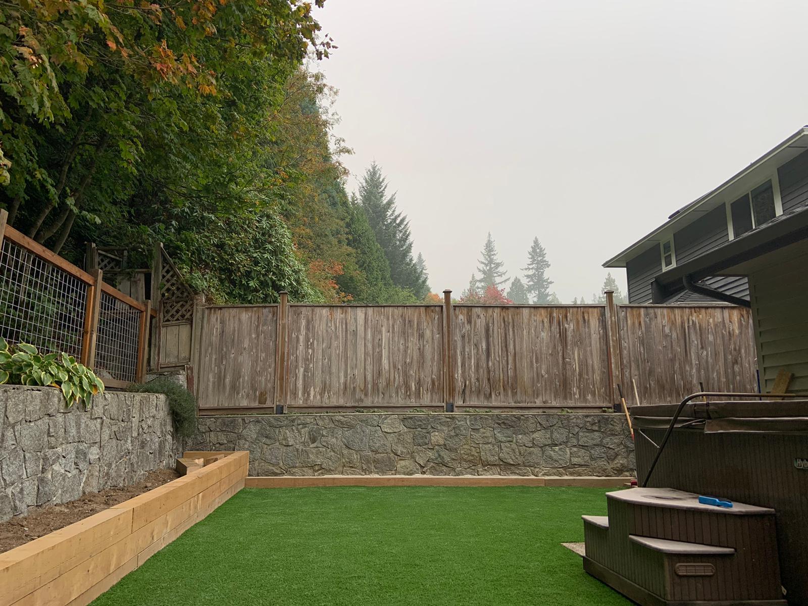 North Vancouver Turf Installation