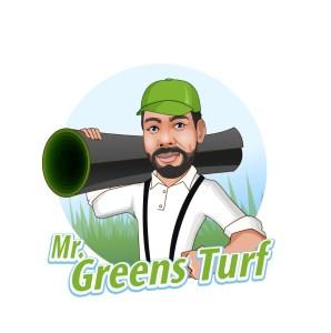 Mr Greens Turf Logo