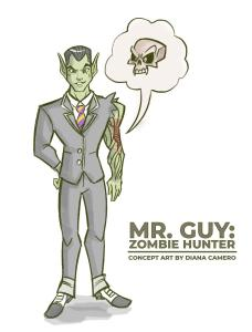 Mr. Guy Concept Art by Diana Camero
