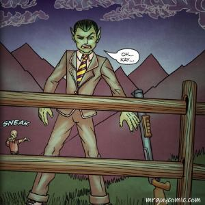 Mr. Guy Zombie Hunter Act 1 sample art
