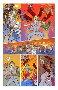 full page of mr. guy zombie hunter by diana camero