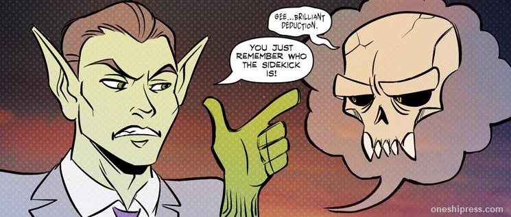 remember who the sidekick is mr. guy zombie hunter panel by diana camero