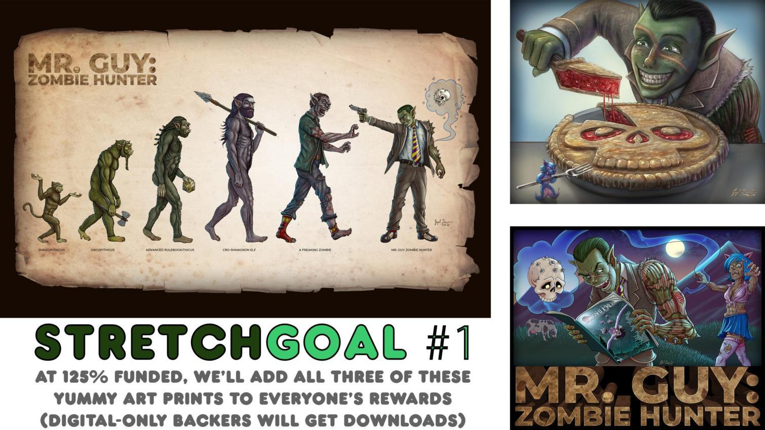 mr guy stretch goals art prints by jayel draco