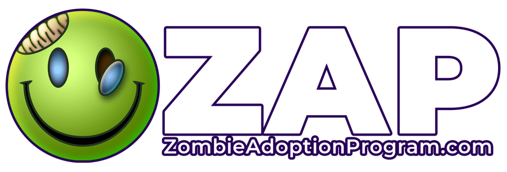 The Zombie Adoption Program logo