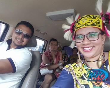 Guna Pakaian Tradisional Sarawak Kena Halau Dari KLCC