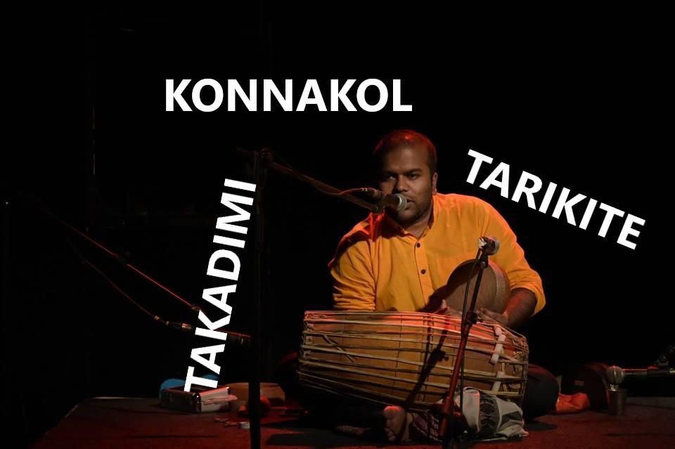 Konnakol langage rythmique de l'inde du sud-Balakumar Paramalingam