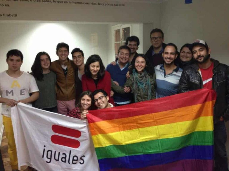 MRI Foundation visiting the team of Fundación Iguales in Chile in September 2013