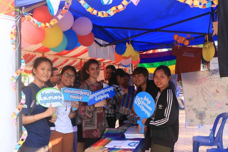 LGBTI celebrate International Women Day in Cambodia