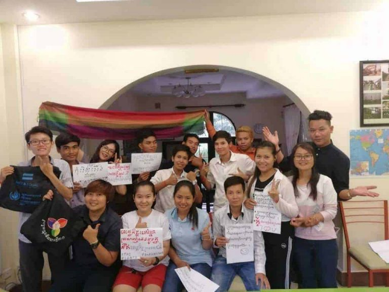 LGBTI economic empowerment workshop in Cambodia