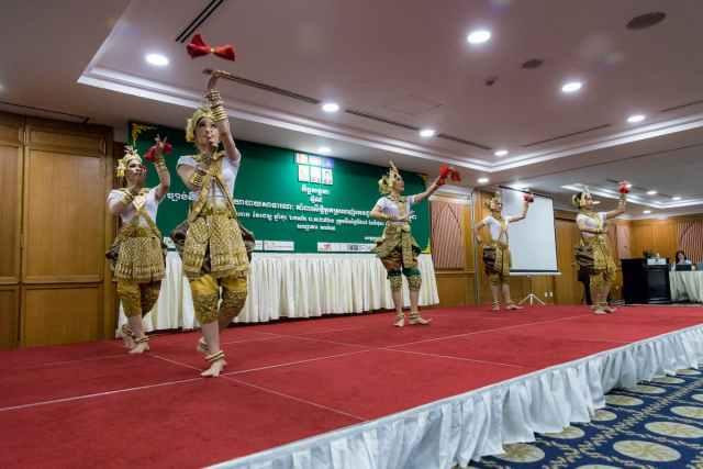 Cambodian Traditional Dancing