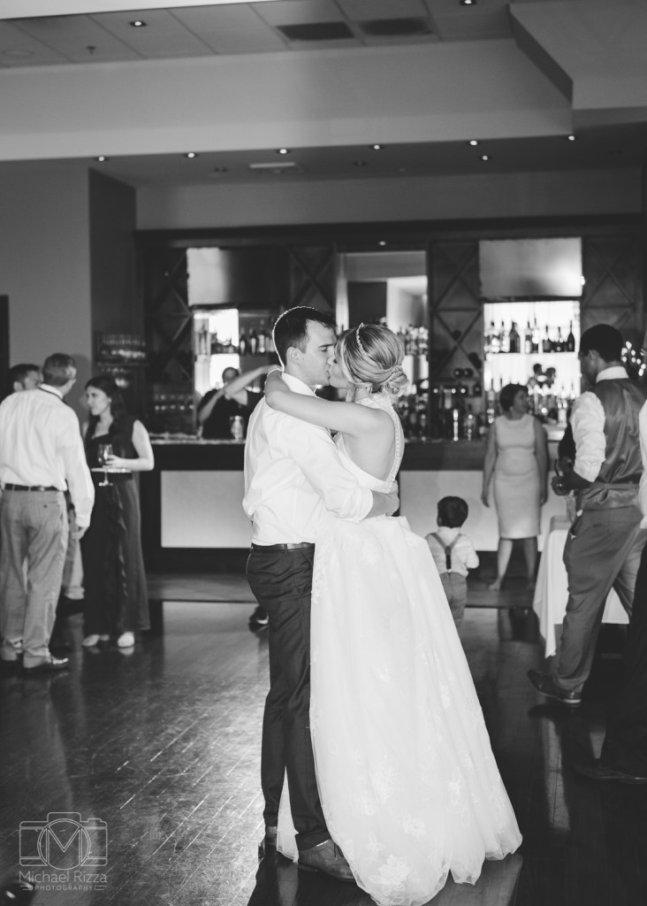 Reception wedding photography - Michael Rizza Photography