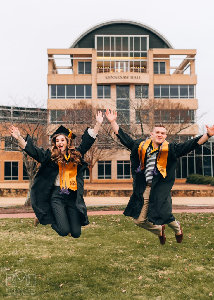Kennesaw State University Grad Photos, KSU Grad Portraits