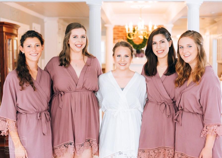 The Inn at Oak Lawn Farms Wedding Photos Bridesmaids
