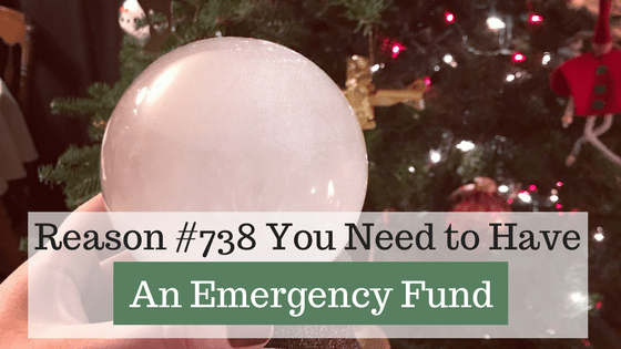"Are you prepared for a financial emergency? 738 reasons why you need an emergency fund. Emergencies are going to happen. The big question you need to answer is, ""how prepared are you when an emergency DOES strike?"" I recommend starting with $1,000 in your emergency fund and then expanding to cover bigger emergencies."