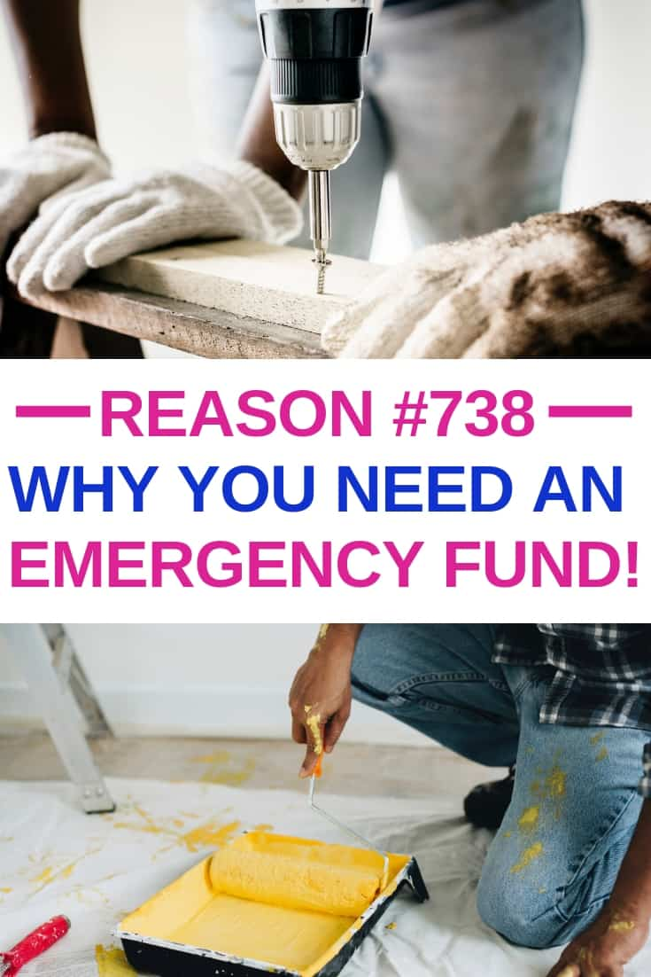 Reason #738 Why You Need an Emergency Fund