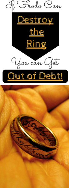 Lessons from Frodo on How to Get Out of Debt!