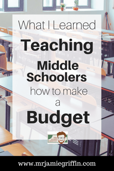 What I Learned Teaching Middle Schoolers How to Make a Budget
