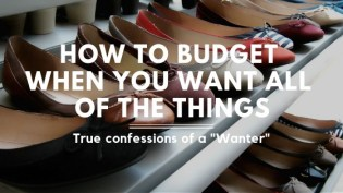 Do you want ALL the things? Yes! It's so much easier for me to spend money than save money! I've always hated budgeting and break my budget everytime. These budgeting tips are spot on and actually help me spend less! If you're a spender and want to learn to be a saver, you'll love this!