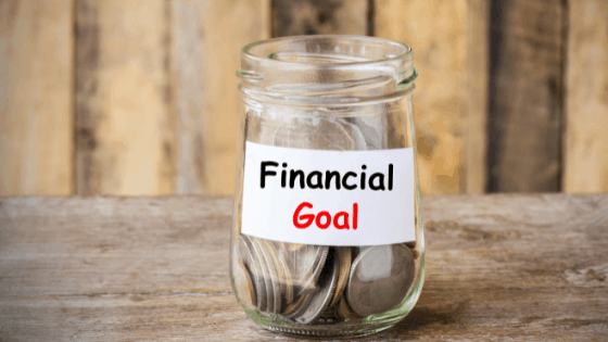 setting financial goals in a 30-30-30-10 budget