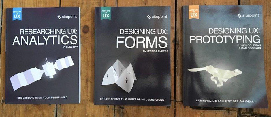 Aspects of UX books