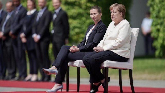 Merkel Krankheit