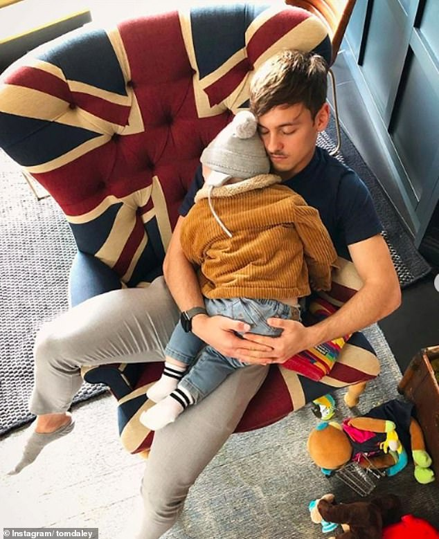 Tom Daley son biological Father