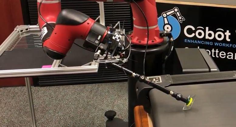 Rethink Robotics Glasbearbeitung