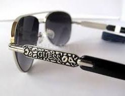 Ochelari de soare dama GUESS Silver Tone Aviators