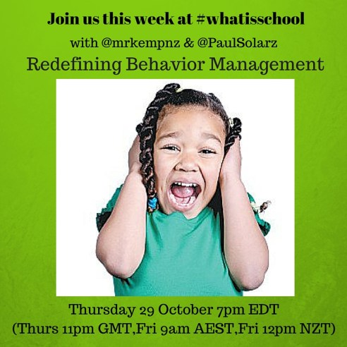 Join us at #whatisschool behavior management (1)