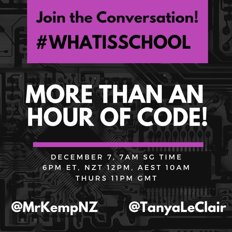 """What is School? """"More than an 'Hour of Code'"""""""
