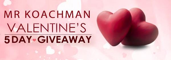 Mr Koachman Valentine Giveaway